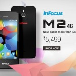 Infocus M2 4G Available on Amazon at Rs.5499