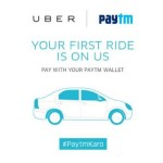 Uber First Ride Free Upto 150 – Pay with Paytm Wallet
