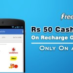 Peopleskart Freecharge Offer – Rs 50 cashback from freecharge on mobile App
