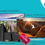 Shopclues Flash Sale on TV & Audio – Upto 70% OFF