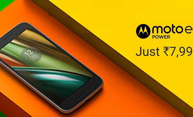 Moto E3 Power on Flipkart