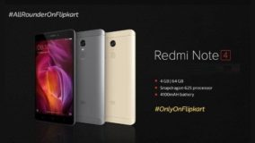Redmi Note 4 Flash Sale on flipkart