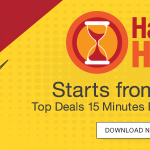 Amazon Happy Hour Sale Starts today at 11 AM