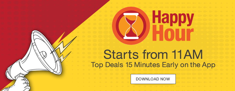 Amazon Happy Hour Sale on App September