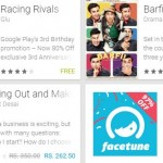 Google Play 3rd birthday offers
