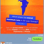 Line Contest Win iphone, Flipkart Vouchers, BMS Vouchers and Powerbanks