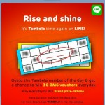 LINE Tambola by LINE India Win BMS Vouchers and Grand Prize iphone