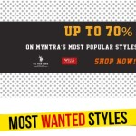 Myntra Most Wanted Sale starts Today Get up to 70% discount