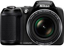 Nikon Coolpix L340 20.2 MP Advanced Digital cameras (Black)