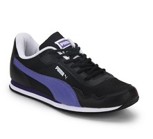Puma Street Rider Dp Black Sporty Sneakers
