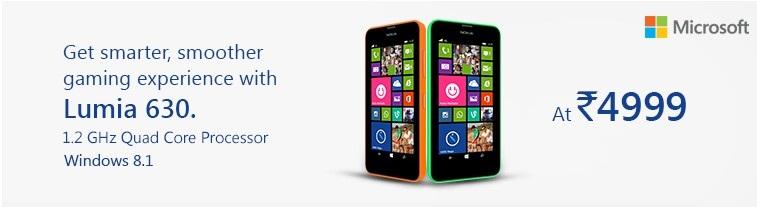 Snapdeal nokia lumia 630