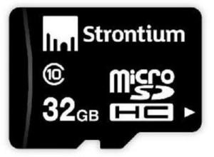 Strontium 32 GB Class 10 memory card