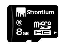 Strontium 8 GB Micro SDHC Class 6