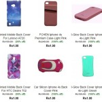 Get iphone 4S Back covers at Rs. 51 from Cubishop
