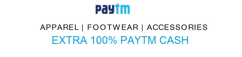 Complete Cashback offer from Paytm - Get 100% Cashback