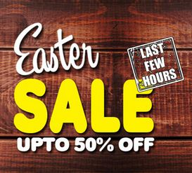Easter Sale Upto 50 off