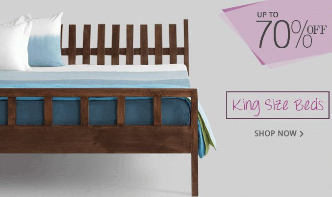Fabfurnish King size beds