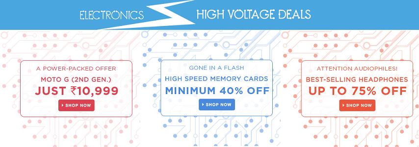 Flipkart high voltage deals