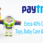 Paytm Flash Sale Kids Bestsellers – Get 40% Amount as Cashback