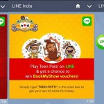Play Line Teen Patti Game and Win BMS Vouchers