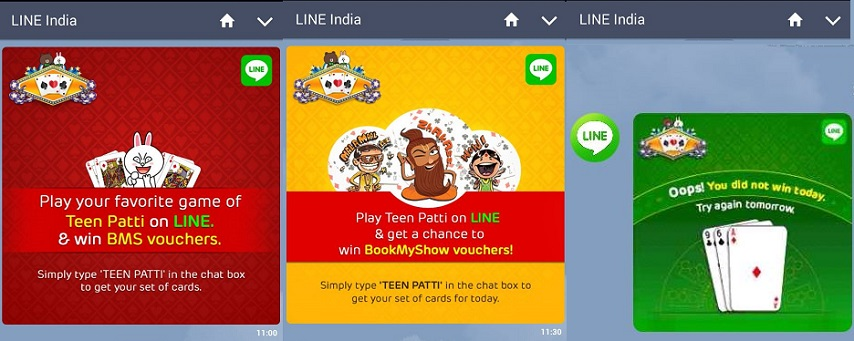 Play Line Teen Patti Game