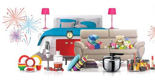 Snapdeal Home Flash Sale