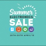 Snapdeal Summer Electronics Sale – 29th April to 30th April