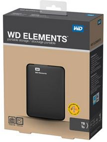 WD Elements external hard drive