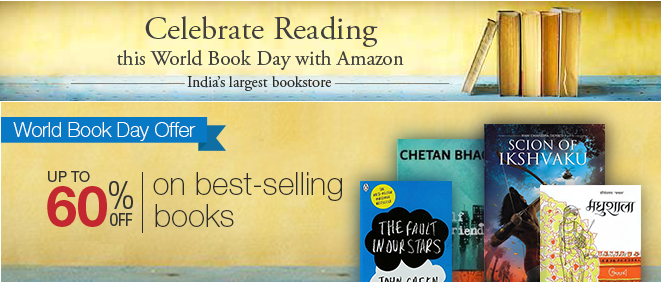 World Book day Offer Amazon