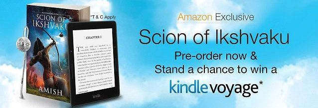 Amazon Pre-order Scion of Ikshvaku