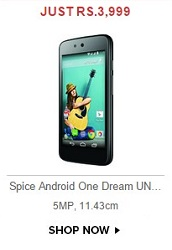 Android One Spice Dream Uno