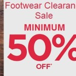 Flipkart Clearance Sale on Men's footwear – Minimum 50% off