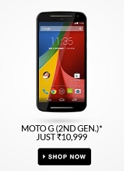 Flipkart Mobile Sale-Moto G 2nd Gen