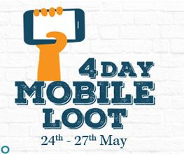 Homeshop18 4 day mobile loot offer
