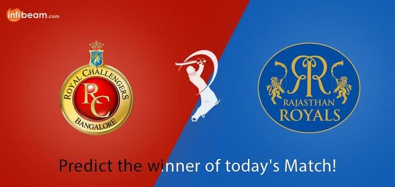 Infibeam Cricket fever Contest RRvsRCB