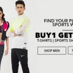Jabong Buy 1 Get 1 Free Offer on Sports Shoes and more