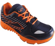 Lancer Blue And Orange EVA Sole Sport Shoe For Men
