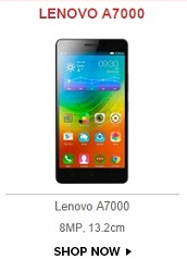 Lenovo A7000 Open Sale
