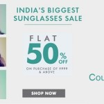 Lenskart Sunglasses Offers Flat 50% Discount (Last Day)