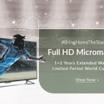 Micromax Mega TV sale on Snapdeal : 1+2 Year Extended Warranty