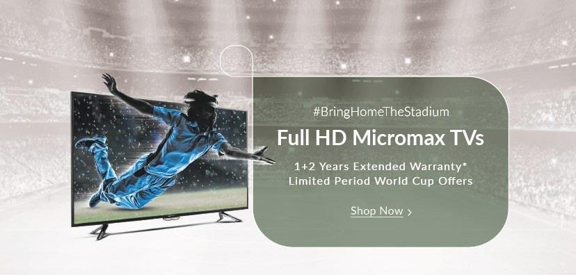 Micromax Mega TV Sale on Snapdeal Bring home Full HD
