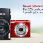 Paytm Get 20% Cashback on Digital Cameras
