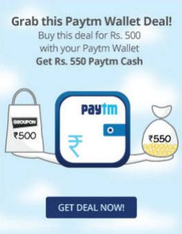 Paytm Groupon Offer