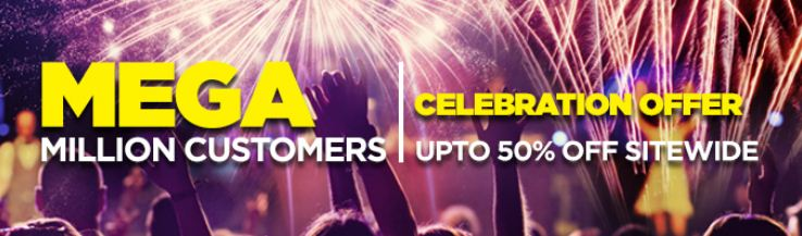 Pepperfry Mega Million customer celebration offer