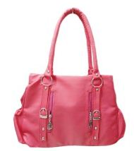 Pink Creative woman shoulder bag