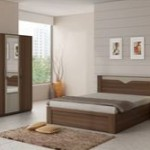 Snapdeal Bed Room Set (Double Bed + 3 Door Wardrobe) at Rs. 22999 only