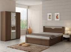 Snapdeal Bed Room Set with wardrobe
