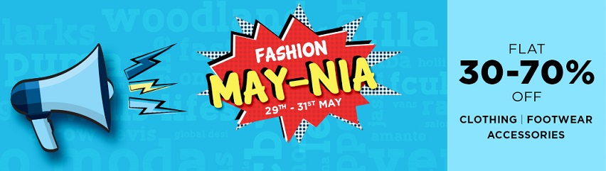 Snapdeal Fashion May-nia Sale