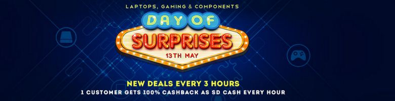 Snapdeal day of surprises 13th May offer