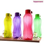 Great Kitchen Festival Snapdeal Tupperware Multi-coloured Bottles Set of 4